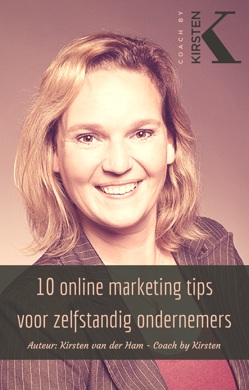 E-book 10 online marketing tips voor zelfstandig ondernemers