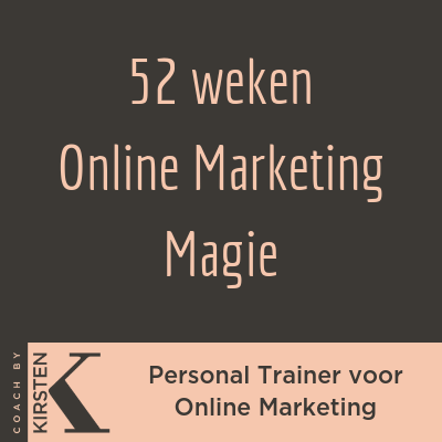 52 weken Online Marketing Magie