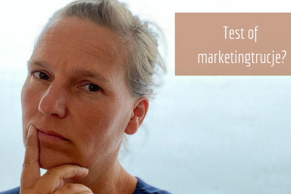 Blog: Test of marketingtrucje?